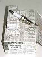 Свеча зажигания Renault Megane 1,6/1.8/2.0 16V  RENAULT ОРИГИНАЛ 7700500155