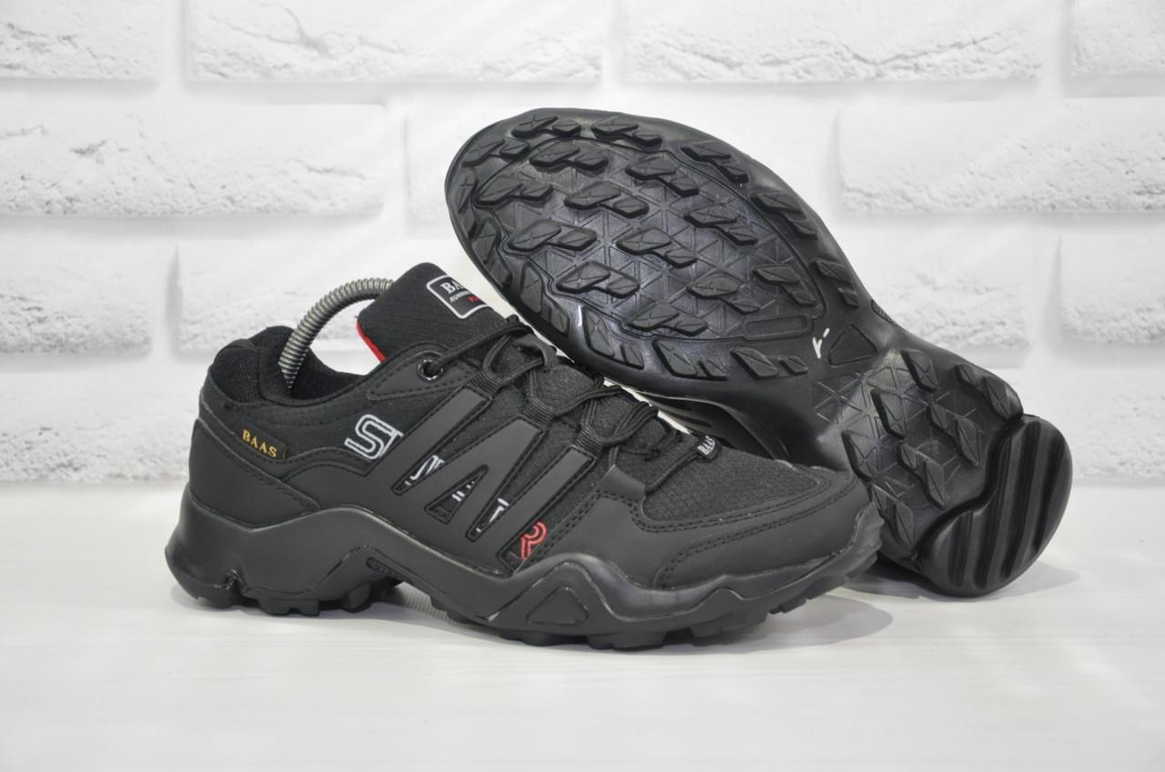 Черные мужские термо кроссовки Baas в стиле Adidas Terrex