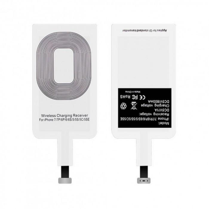 Приемник для беспроводной зарядки Iphone lightning AR 71 Белый