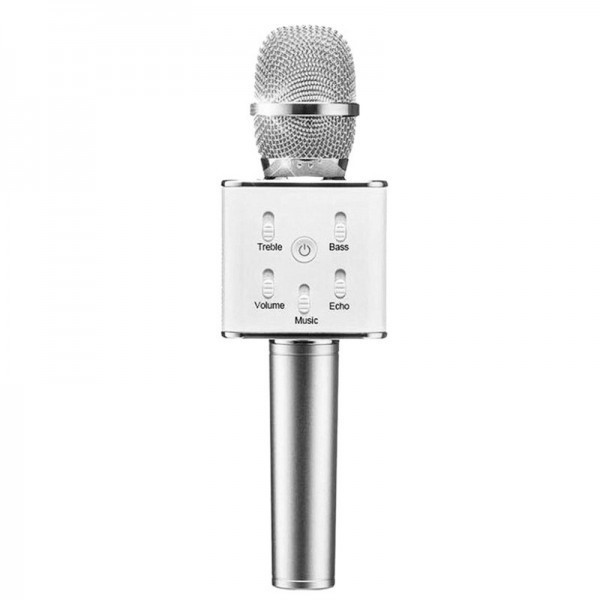 Караоке микрофон Q7 (Q7(Silver))