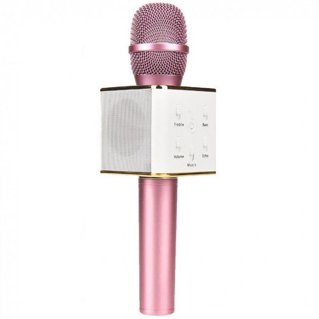 Караоке микрофон Q7 (Q7(Pink))