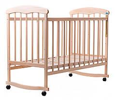 Детская кроватка Наталка липа светлая