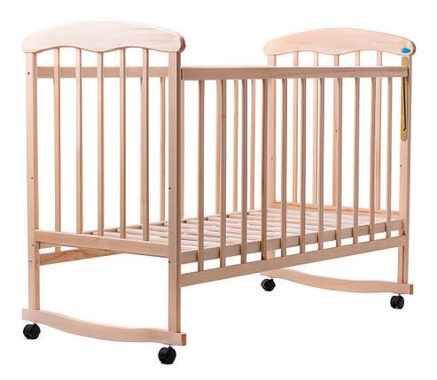 Детская кроватка Наталка липа светлая, фото 2