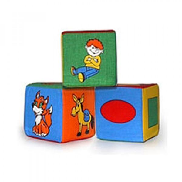 Набор из 3-х кубиков/84  арт. 125