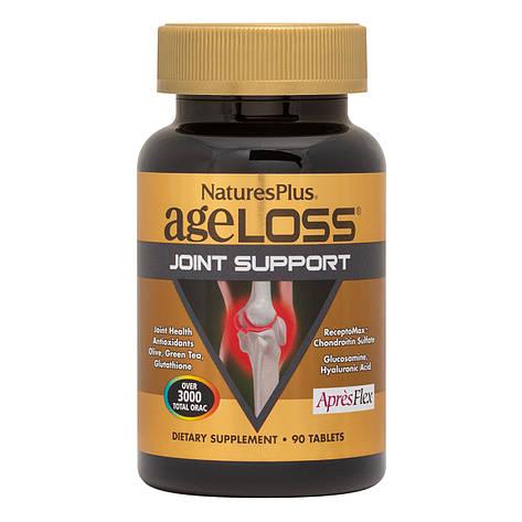 Поддержка Суставов, AgeLoss Joint Support, NaturesPlus, 90 таблеток, фото 2