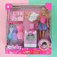 Кукла с нарядом DEFA стиральная машина