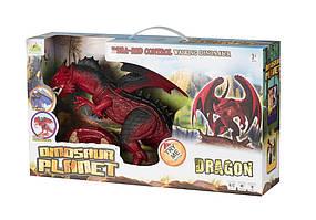 Дракон Same Toy (свет, звук) красный, подарочная ук. RS6139AUt