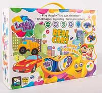 Набір тіста для ліплення тематичний TM LOVIN'DO Real cars (в коробці)