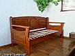 """Дерев'яний диван ліжко з м'якою спинкою """"Орфей - 2"""", фото 4"""