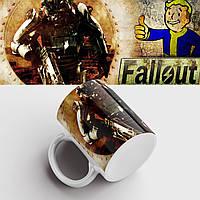 Кружка с принтом Fallout. Фоллаут. Чашка с принтом. Чашка с фото, фото 1