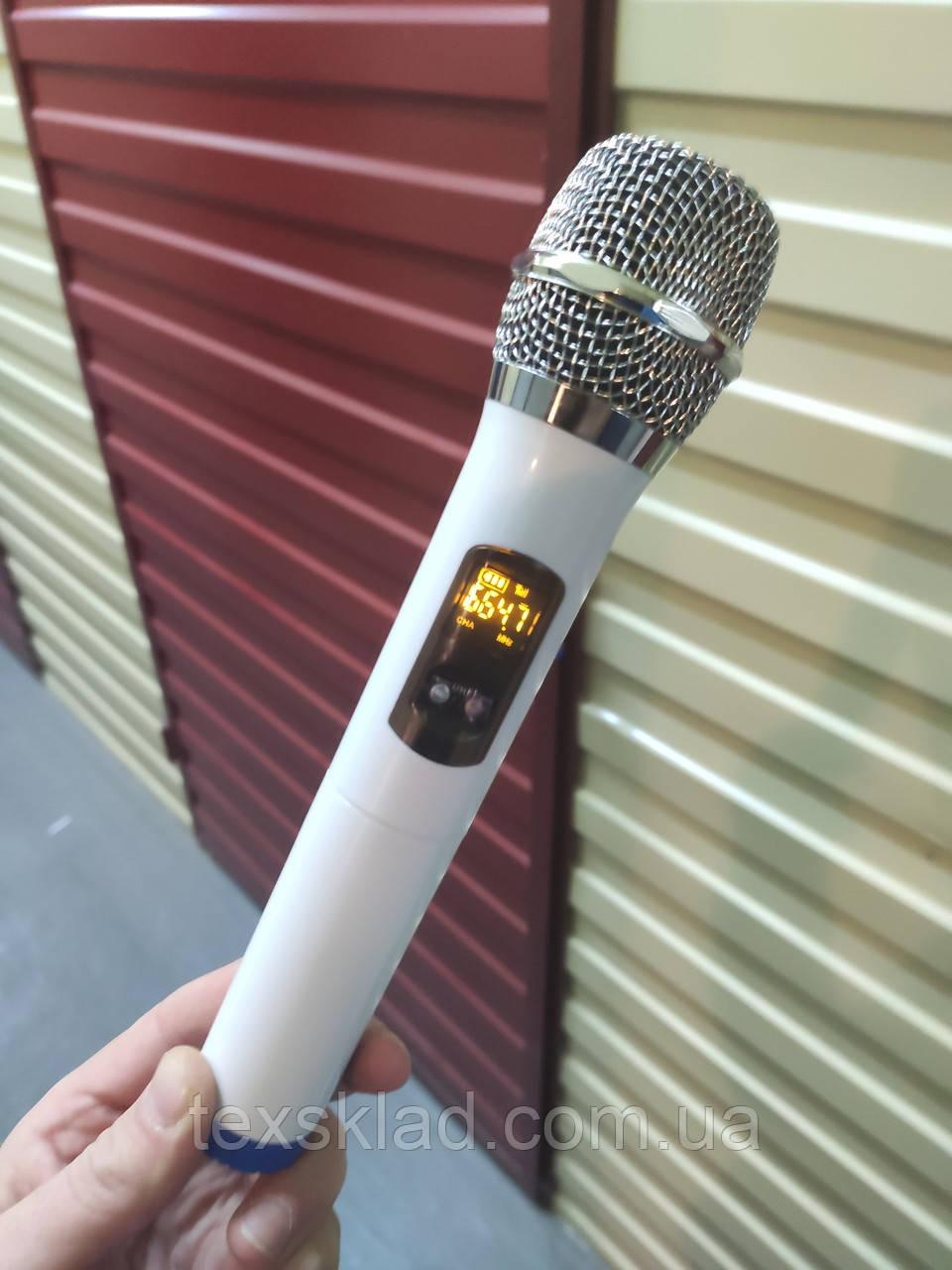Беспроводной микрофон для аккумуляторной колонки QX-1521 или HAMERSH 1521