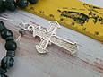 Серебряный православный крестик с распятием. Вес 7,9 гр. 925 проба, фото 2
