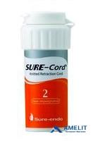 Нить ретракционная Шур-Корд, №2 (Sure-Cord, Shure-Endo), без пропитки, 1шт.