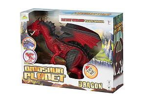 Дракон Same Toy красный со светом и звуком