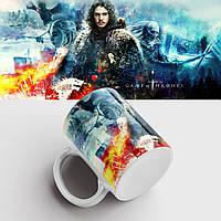 Чашка з принтом Гра престолів. Гра Престолів. Game of Thrones. Чашка з принтом, фото 1