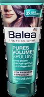 BALEA Professional Pures Volumen Spulung - Бальзам для тонкого волосся та покращення їх структури 200 мл