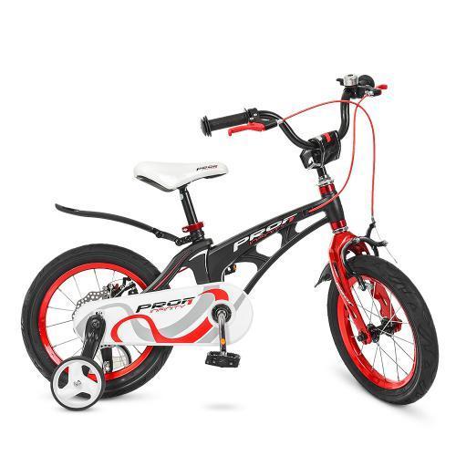 Велосипед Profi Infinity14 магниевая рама черный / красный