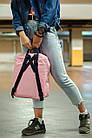 Городской Рюкзак Fjallraven Kanken Classic 16 л Розовый Персик с темно-синей ручкой, фото 3