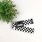 Ремень Пояс Vans Belt в клетку 100 см Черно-Белый, фото 2