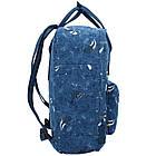Городской Рюкзак Fjallraven Kanken Classic Art 16 л Blue Fable темно-синий, фото 4