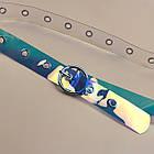 Ремень Пояс City-A Belt 100 см Голография круг, фото 3