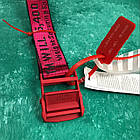 Ремень Пояс Off-White Original Belt Офф Вайт 150 см Красный с красной пряжкой, фото 2