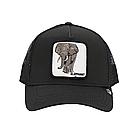 Кепка Бейсболка Тракер с сеткой Goorin Brothers Animal Farm Elephant со Слоном Черная, фото 2