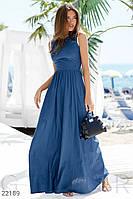Довге лляне плаття S,M,L, фото 1