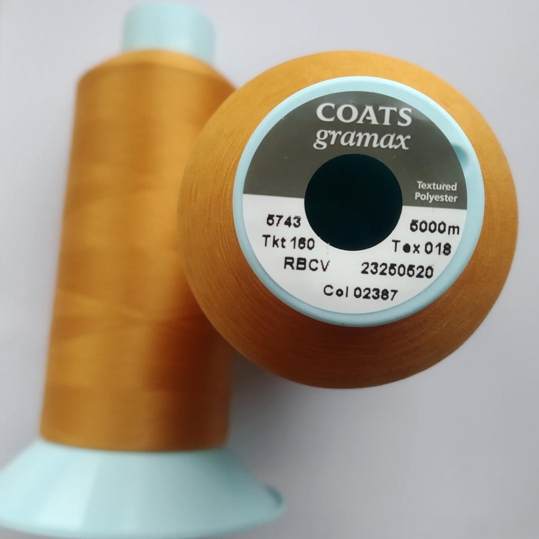 Текстурована нитка Coats gramax 160/ 5000v / 02387