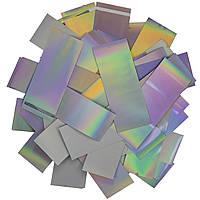Конфетти ЛК680 Голограмма 2х6 1кг, фото 1