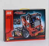 Конструктор машина JISI Bricks Race Truck, 608 деталей, фото 1