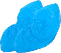 Бахилы синие полиетиленовые 2,5 г, Medicom