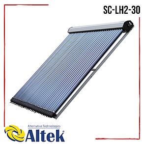 Солнечный коллектор Altek SC-LH2-30 вакуумный без задних опор всесезонный, фото 2