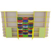Учебный шкаф для дидактических материалов в Новую школу