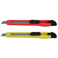 Нож Delta трафаретный, 9мм, красный