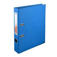 Папка-регистратор Delta двухст. PP 5 см, собранная, голубая