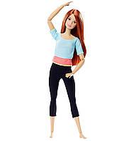 Супергибкая кукла Барби Гимнастка Оригинал с рыжими волосами - безграничные движения (DPP74) (887961323412), фото 1
