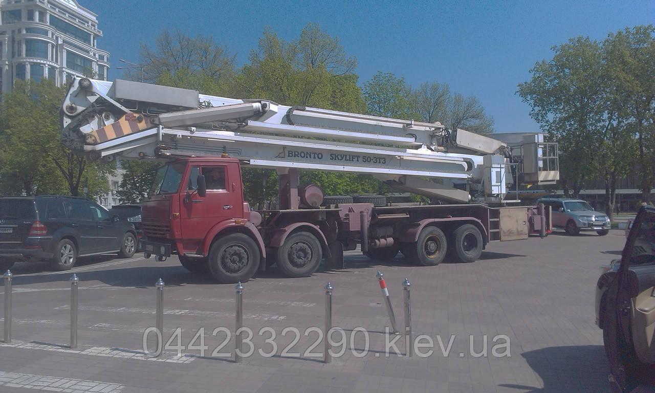 Аренда Автовышки АГП-50 Skylift Bronto 50-3T3