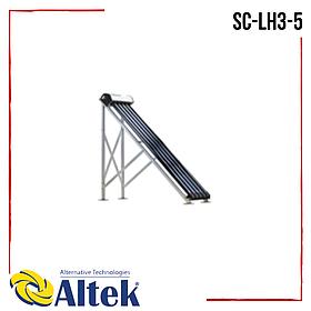 Солнечный коллектор Altek SC-LH3-5 вакуумный с задними опорами