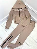 Спортивный костюм женский стильный осенний 42 44 46 48 размеры Новинка 2020 есть цвета