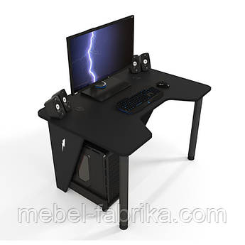Геймерский стол ZEUS IVAR черный