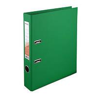 Папка-регистратор Delta двухст. PP 5 см, собранная, зеленый
