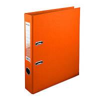 Папка-регистратор Delta двухст. PP 5 см, собранная, оранжевая