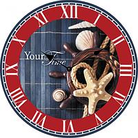 Часы настенные Морские МДФ 28см