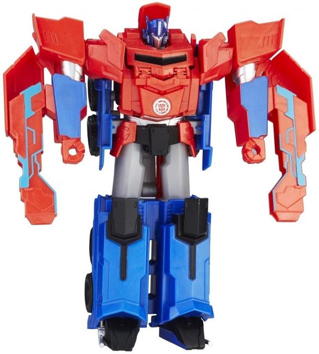 Робот-трансформер Hasbro Transformers 3-Step Changers Optimus Prime C0642 (B0067)