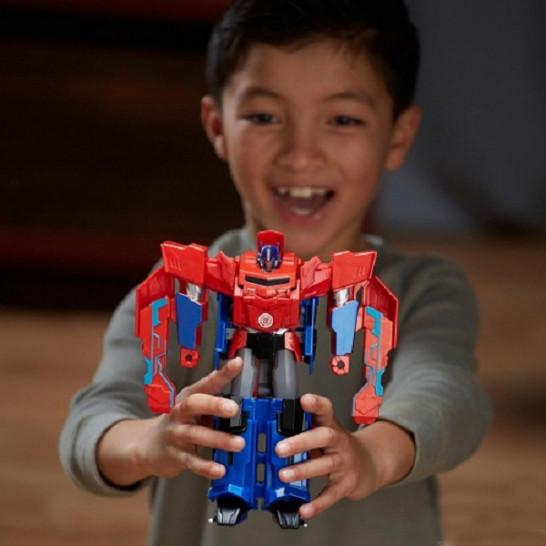 Transformers Робот-трансформер Combiner Force 3-Step Changer Optimus Prime Hasbro (Оптимус прайм Hasbro C0642)
