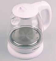 Стеклянный электрический чайник 1 л Maestro MR-055 Внутренняя подсветка