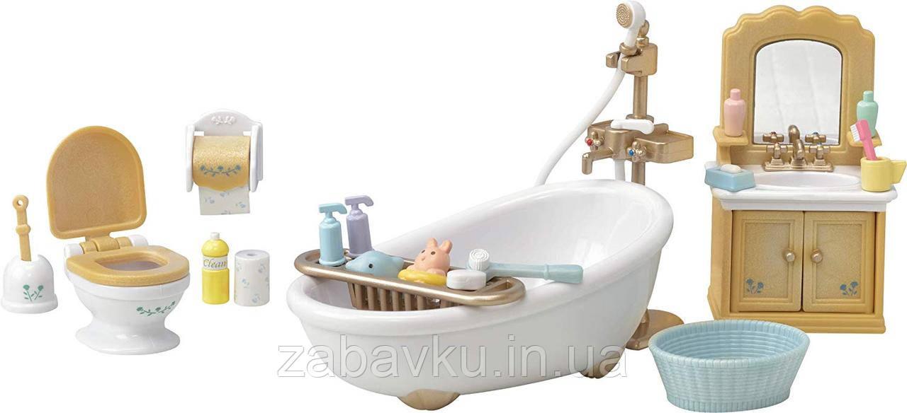 Сільваніан фемелі набір ванна кімната Sylvanian families Country Bathroom Сильваниан ванная комната