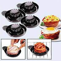 Набор форм для выпечки бекона Perfect Bacon Bowl cъедобная тарелка! Лучшая цена