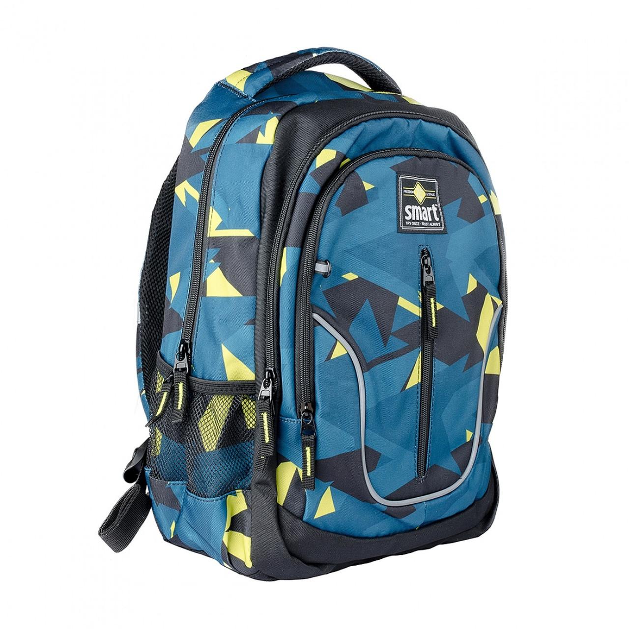 Рюкзак школьный для мальчика SMART 558631 TN-07 Global